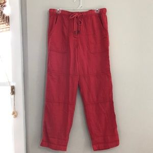 Women's J. Crew relaxed cotton pants